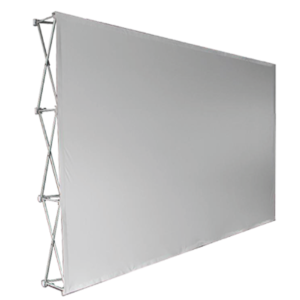 Banner-wall